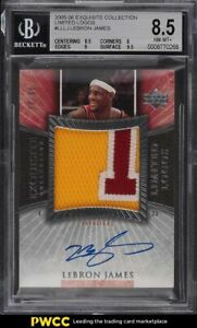 2005-Exquisite-Collection-Limited-Logos-LeBron-James-PATCH-AUTO-50-BGS-8-5