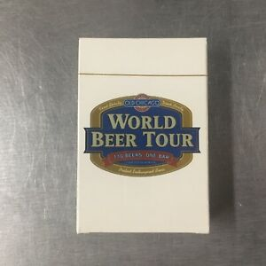 Vintage-Old-Chicago-World-Beer-Tour-Playing-Cards-SEALED