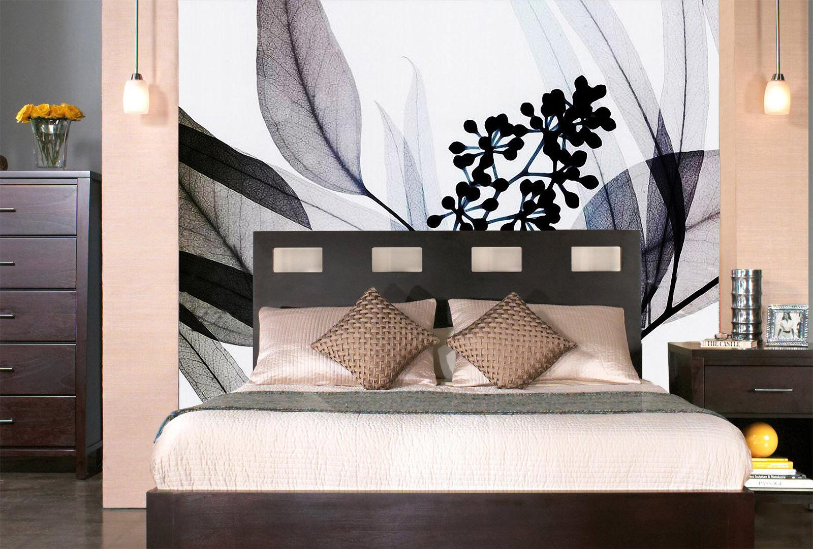 3D Blaumen Blätter 753 Tapete Wandgemälde Tapete Tapeten Bild Familie DE Summer | Kostengünstiger  | Fierce Kaufen  | Viele Stile