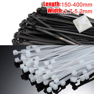 BRAND NEW PLASTIC 180 PCS ASSORTED CABLE TIES 100 /& 200mm ASSORTED COLOUR