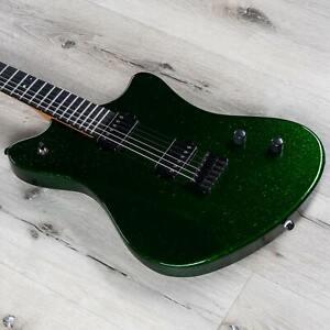 Balaguer The Espada Exclusive Guitar, Ebony Fretboard, Emerald Sparkle