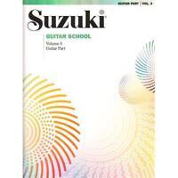 Suzuki Guitar School Volume 3 - Guitar Part - Book