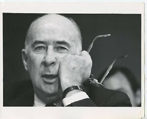 8-x-10-Press-Photo-John-N-Mitchell-67th-Attorney-General-Watergate-Scandal