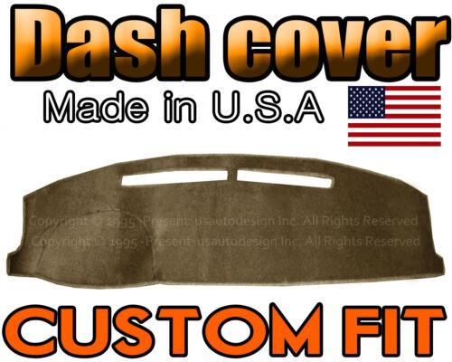 fits 2002-2009  CHEVROLET  TRAILBLAZER  DASH COVER MAT DASHBOARD PAD TAUPE