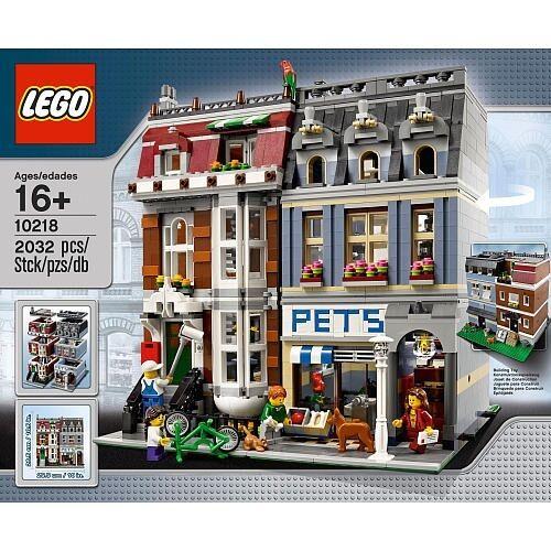 NEW LEGO PET SHOP SET 10218 sealed in box modular building nisb nib creator rare