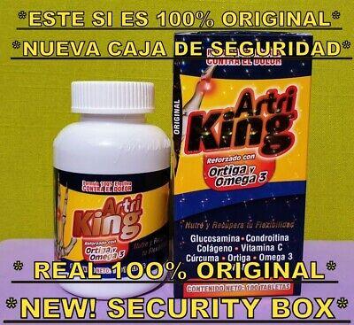 Artri King 100 Original Con Ortiga Omega 3 Curcuma 100 Tabs