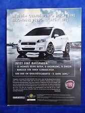 Fiat Grande Punto - Werbeanzeige Reklame Advertisement 2008 __ (200