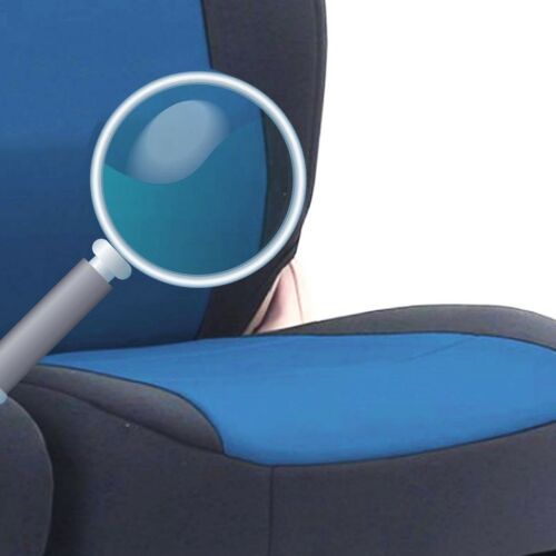 2+1 BLUE SOFT COMFORT FABRIC SEAT COVERS FOR VW TRANSPORTER T5 T28//30 2003-2009