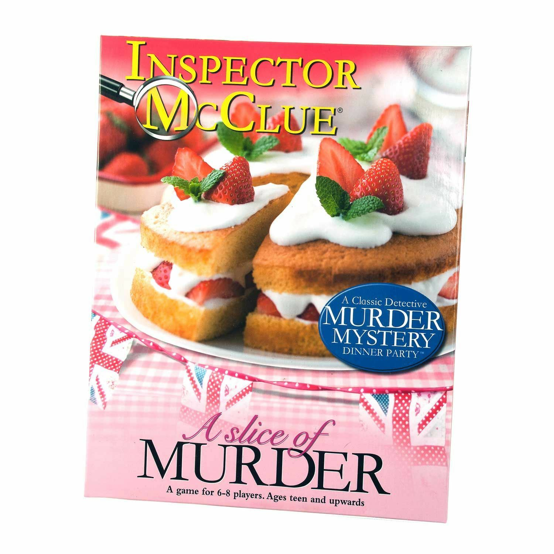 Inspector Mcclue Juego de Misterio Asesinato - a Slice Of Murder