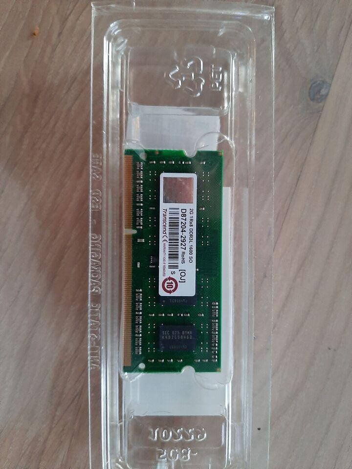 Qnap transcend, 2GB, DDR3L SDRAM