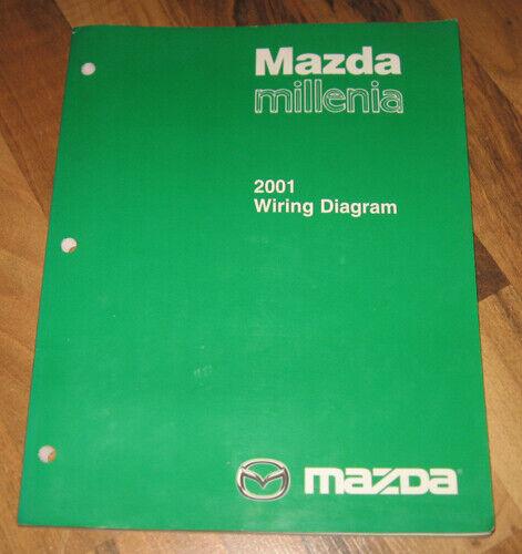 2001 Mazda Millenia Electrical Wiring Diagram Manual