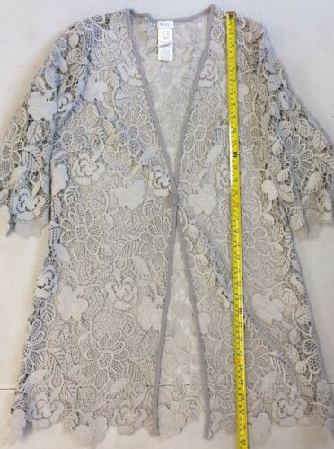 Box38 Rrp£99 Mona Size Uk14s Lace Jacket xq6w0wX7