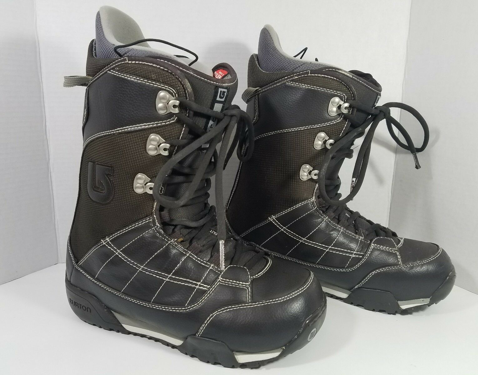 BURTON RULER MATRIX 3 Snowboard Boots Men Size 9 Brown  Bone Out NICE     manufacturers direct supply