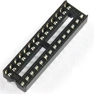 20-stk-28-pin-dil-dip-ic-socket-pcb-mount-connector-neu