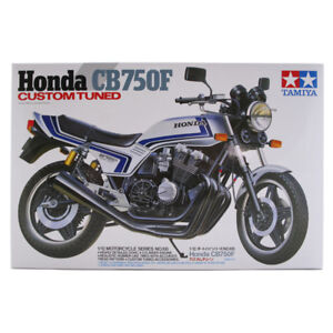Tamiya Honda CB750F Custom Tuned Model Set (Scale 1:12) Bike Model Kit 14066 NEW
