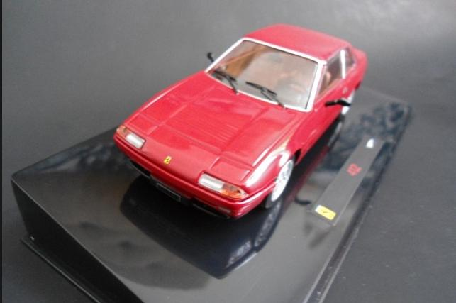 Ferrari 412 rouge N5595 1 43 Hot Wheels Elite