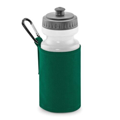 Quadra Water Bottle /& Holder 500ml School Boys Girls Childrens PE Sports QD440