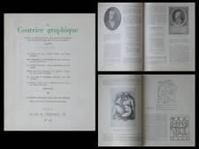 LE COURRIER GRAPHIQUE n°41 1949, MAILLOL, MARAT, BAUDELAIRE, PAUL VALERY