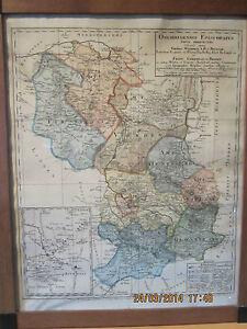 sehr alte landkarte von osnabr ck in niedersachsen osnabr ck jahr 1774 ebay. Black Bedroom Furniture Sets. Home Design Ideas