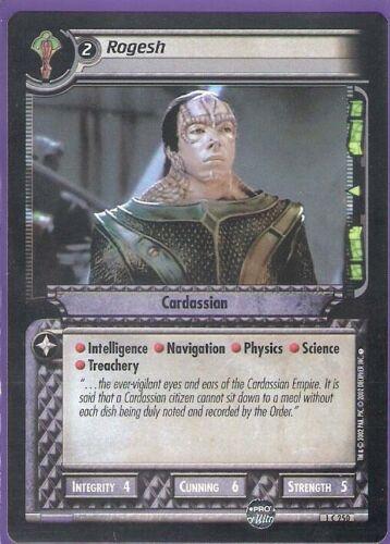 Rogesh-cardassian-Star Trek CCG-Customizable Card Game Anglais