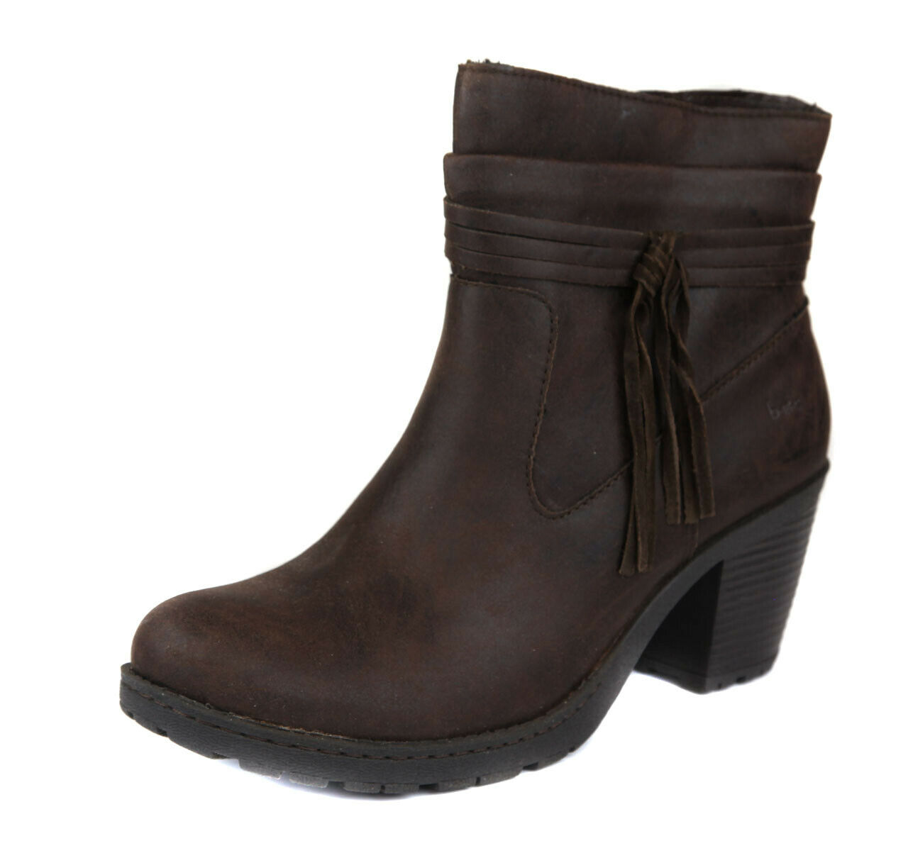 Born Women's Brown Alicudi Tassle Ankle Bootie Boot Boot Boot shoes Ret  99 New d7554c
