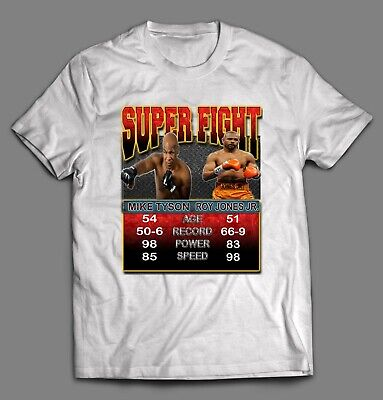 mike tyson x roy jones jr super fight boxing fight poster shirt ebay mike tyson x roy jones jr super fight boxing fight poster shirt ebay