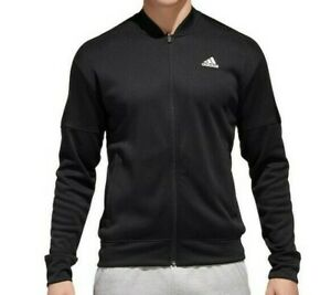 Details zu New $60 Adidas Men's Team Issue Performance Bomber Jacket Large XL or XXL 2X