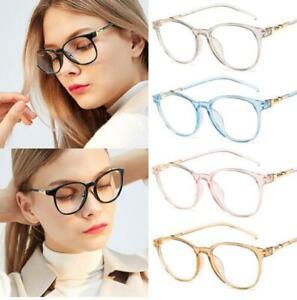 Women-Eyeglasses-Frame-Transparent-Lens-Spectacle-Frame-Glasses-Optical-Clear