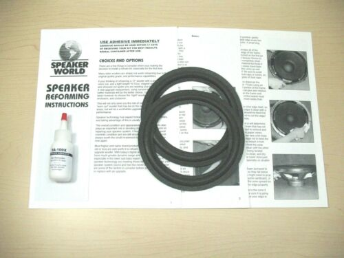 """Infinity-Dodge-Chrysler Factory Refoam Kit  6/""""-6.5/"""" Universal Fit Many others."""
