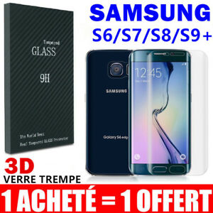 Vitre-Verre-Trempe-Total-Film-Protection-Ecran-Samsung-S8-S9-S7-Edge-S6-Note-9-8