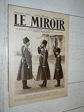 MIROIR 25/03 1917 GUERRE 14-18 NICOLAS II BAGDAD MAUDE VERDUN FEMMES AU TRAVAIL