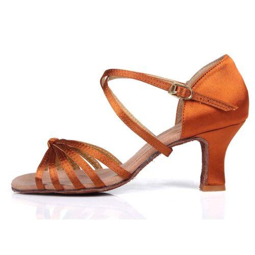 NEW Professional Women Girl lady/'s Latin Ballroom Tango salsa Dance Shoes heeled