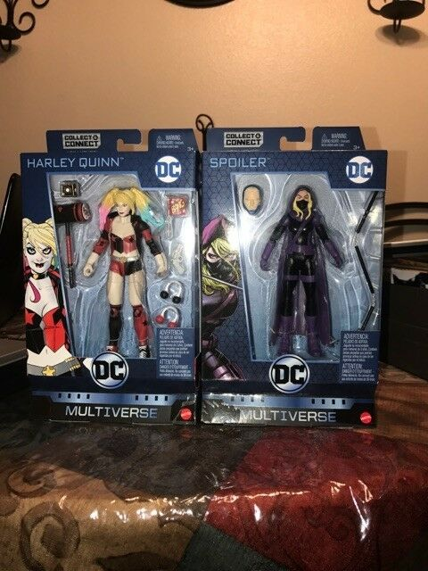 DC Multiverse HARLEY QUINN + SPOILER Lex Luthor Walmart Exclusive New Sealed.