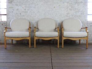 1-3-Mid-Century-Sessel-Armlehnensessel-Easy-Chair-50er-60er-Jahre-Vintage