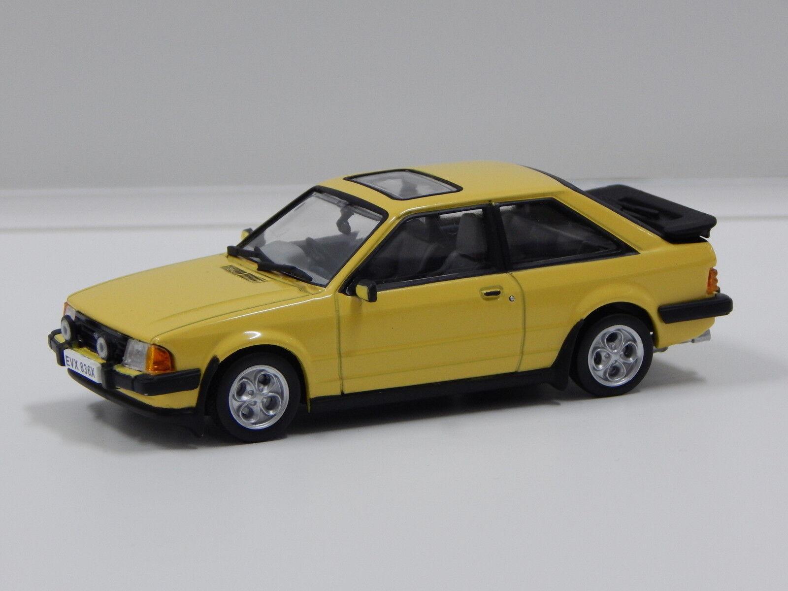 1 43 1981 Ford Escort Mk3 XR3 (Prairie Yellow) Vitesse 24836R