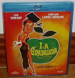 LA-GRADUADA-BLU-RAY-NUEVO-PRECINTADO-CINE-ESPANOL-LINA-MORGAN-SIN-ABRIR-R2