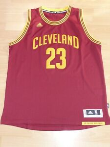 Cleveland-Cavaliers-LeBron-James-23-Basketball-NBA-Swingman-Trikot-XXL-Adidas-r
