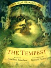 The Tempest - William Shakespeare - Retold by Ann Keay Beneduce - Library Discar