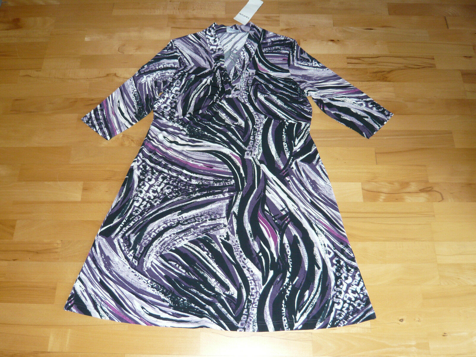 3 4-Arm-Kleid  Stretchkleid v. TAIFUN by GERRY WEBER, Gr. 44, lila-gem., NEU