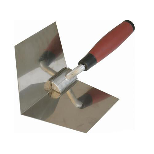 127mm Soft-Grip Inside Corner Trowel - Building, Brickaying, Plastering Tool