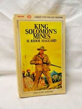 King Solomon's Mines Mining H Rider Haggard Adventure Literature & Fiction Book