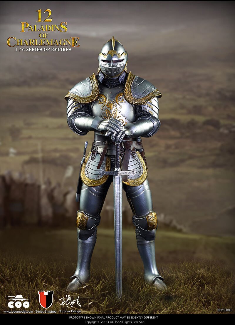 1/6 Coomodel Series of Empires SE003 Paladins of Charlemagne 12