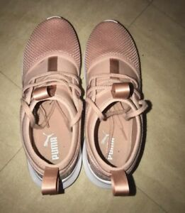 Ep Chaussures Taille Puma Synthétique Femme Rose Low Baskets Satin Wn's Phenom YwSfFgwq