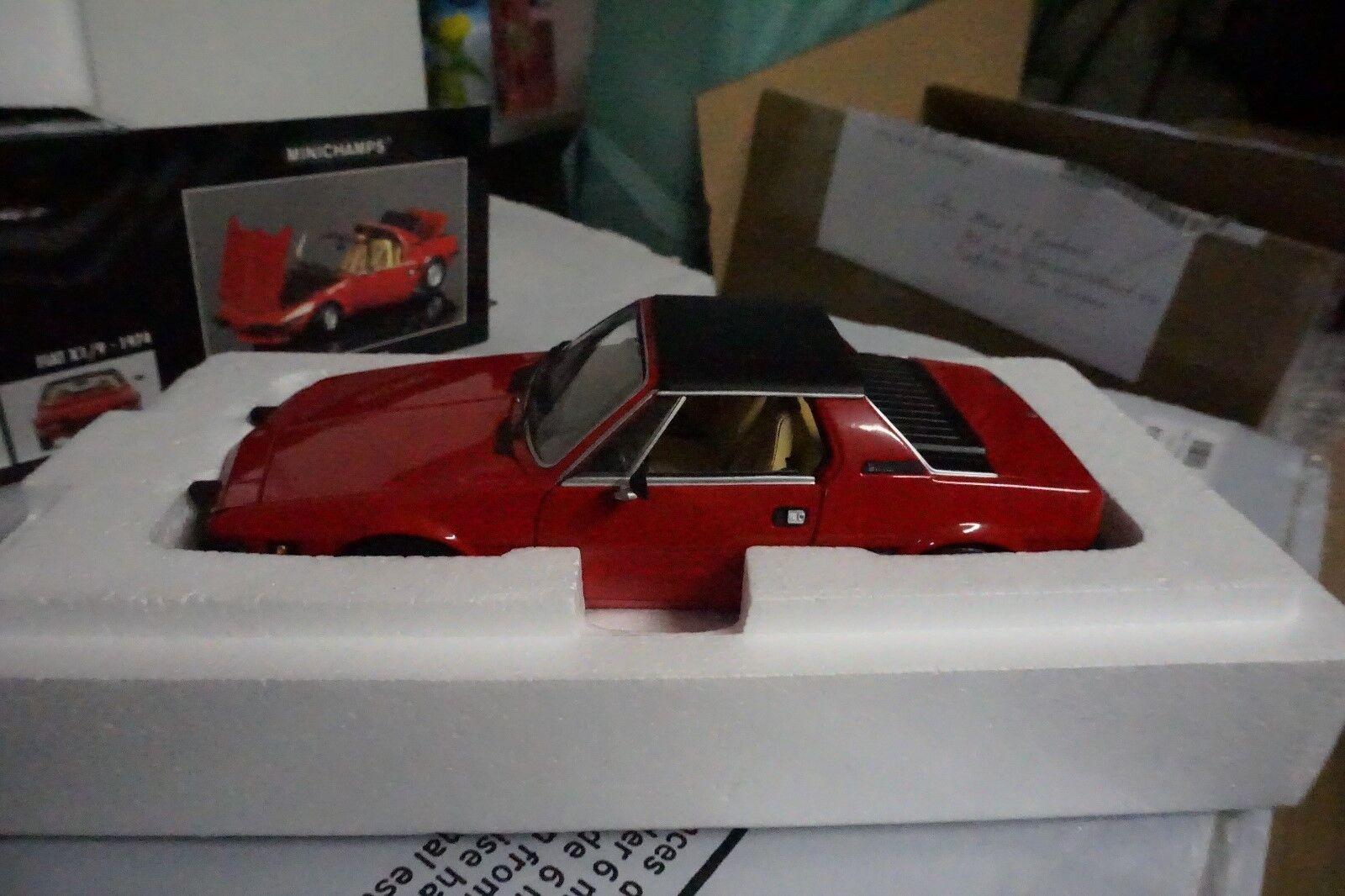 1 18 Minichamps 100121660 Fiat x1 9 1974 rosso