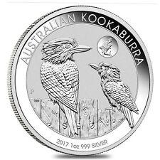 *2017 Australia Kookaburra (SHARK Privy) Silver Coin BU 1oz .999 - Only 50K*