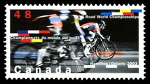 Canada-1993-VF-NH-CYCLING-CHAMPIONSHIPS-New-Pristine-2003-Original-Gum