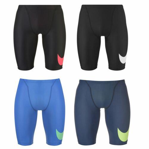 Nike Swoosh Jammers Mens Bottoms Swimwear Sportswear EU 34 Black