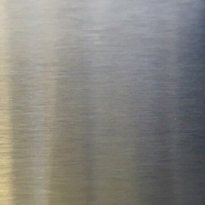 """20 Ga Stainless Steel Mirror Sheet  x 12/"""" x 24/"""" #8 Finish with PVC"""