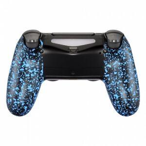 Military Gamer Grip Gehäuse PS4 Controller Slim Pro JDM 040-055 Anti Sweat Blue