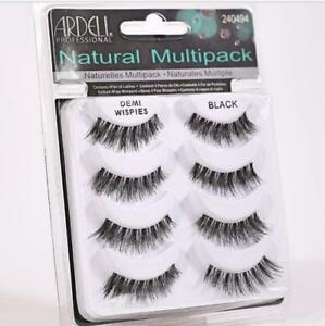 298f6422a41 Image is loading Ardell-NATURAL-MULTIPACK-DEMI-WISPIES-False-Eyelashes-Fake-